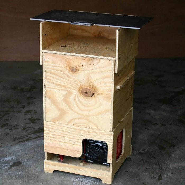 13. DIY Portable Welding Table