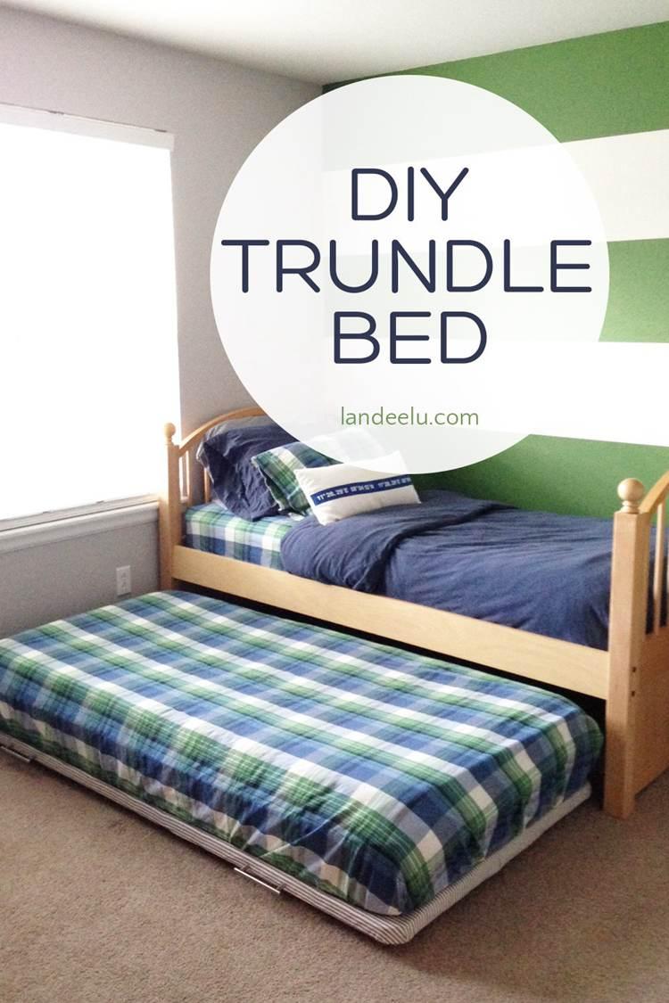 13. DIY Trundle Bed