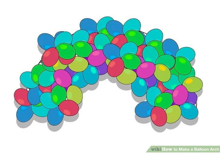 13. How To Make A Balloon Arch