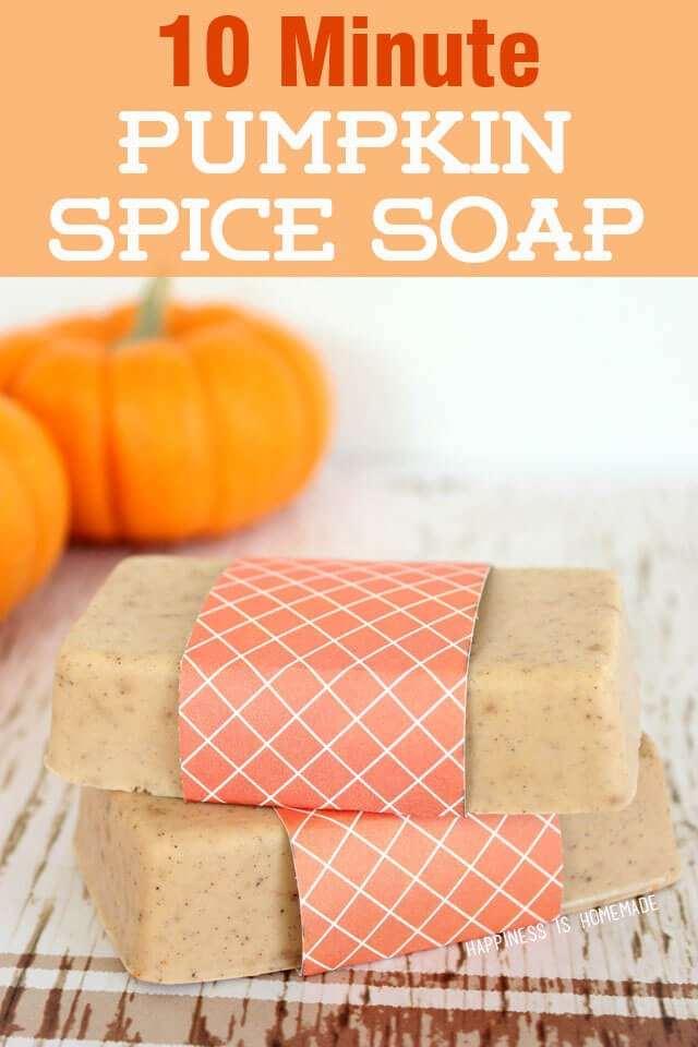 13. Pumpkin Spice Soap