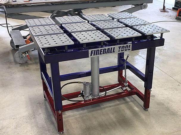 14. Adjustable Welding Table Plans