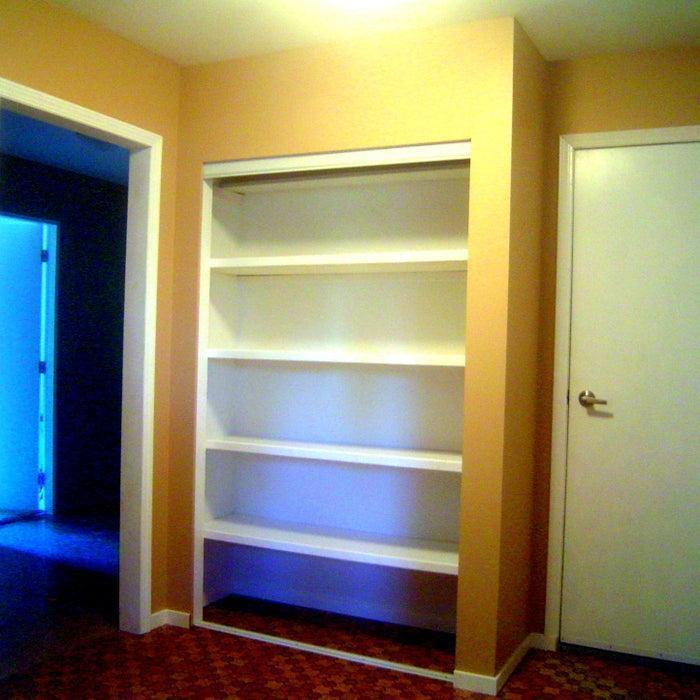 14. DIY Built In Wardrobe