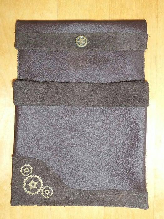 14. DIY Leather Tablet Case
