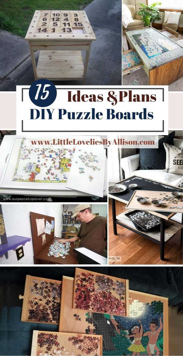 15 DIY Puzzle Boards Ideas_ How To Make A Puzzle Board