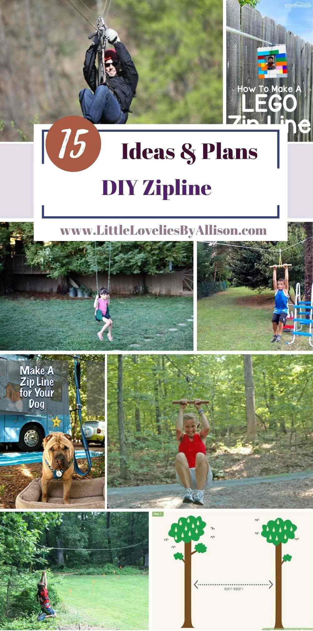 15 DIY Zipline Ideas within Reasonable Cost