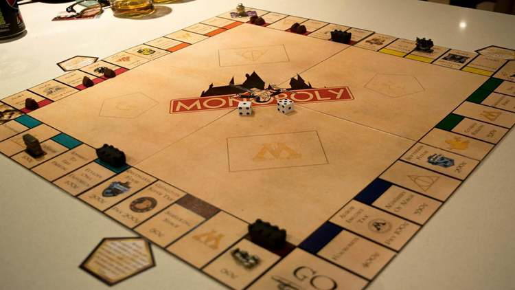 15. DIY Harry Potter Monopoly