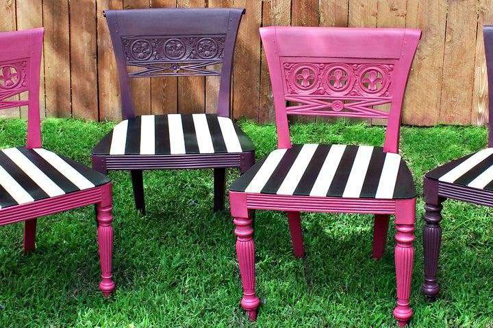 15. DIY Outdoor Chair Makeover