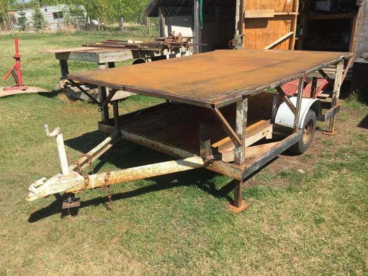 15. DIY Supreme Mobile Welding Table