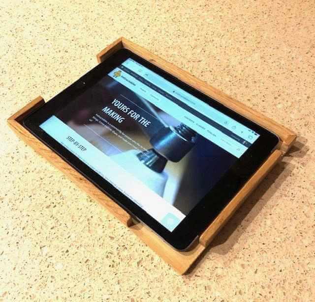 15. DIY Tablet Tray Case
