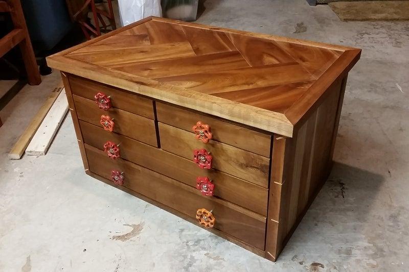 15. DIY Tool Storage Cabinet