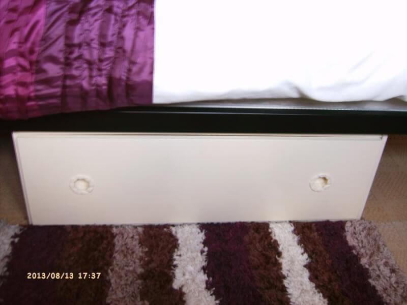 15. DIY Under Bed Storage