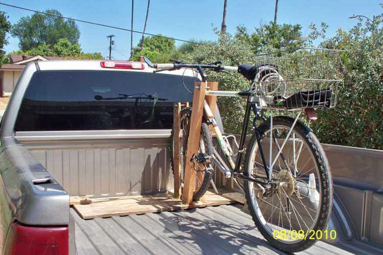 15. Frugal Bike Rack