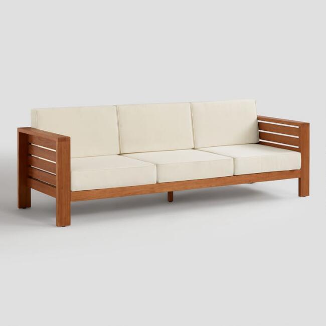 16. DIY Modern Outdoor Sofa