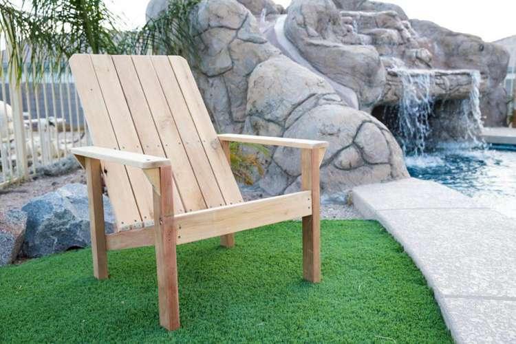 16. DIY Upcycled Adirondack Chair