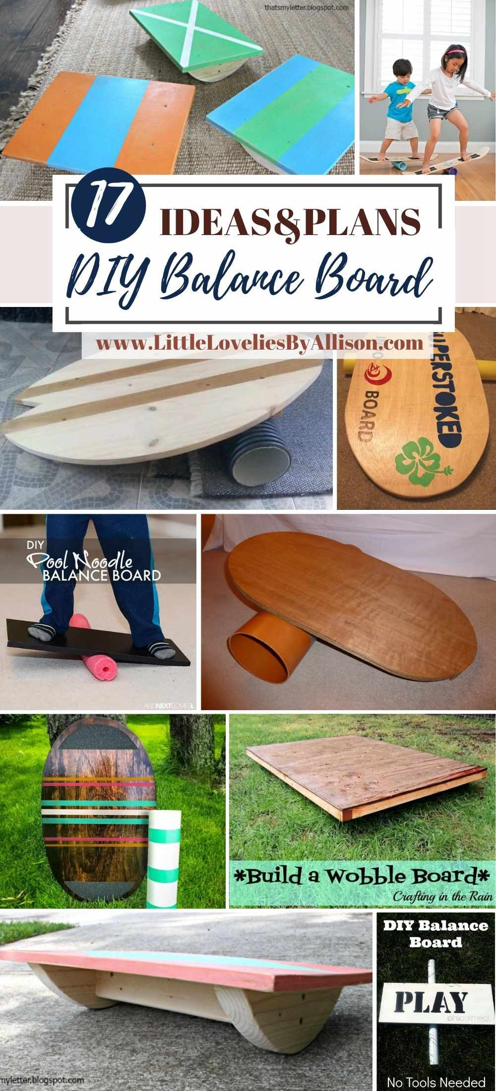 17 Different Ways to Shape DIY Balance Board at Home