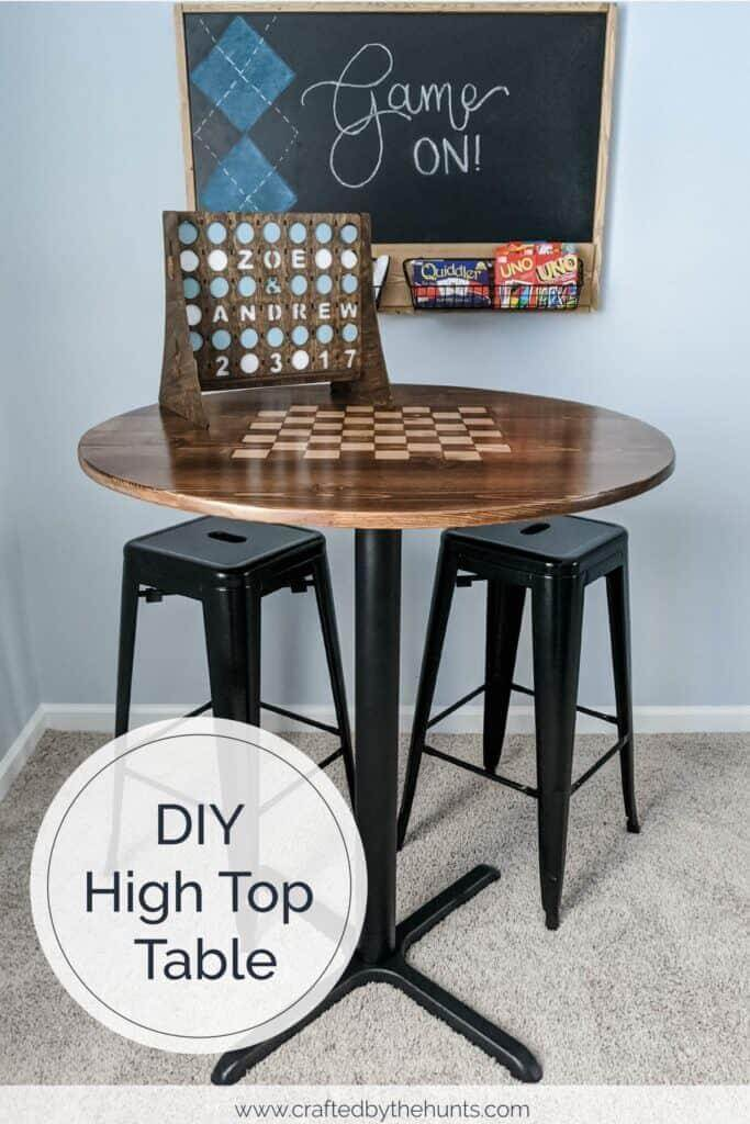 17. DIY High Top Table