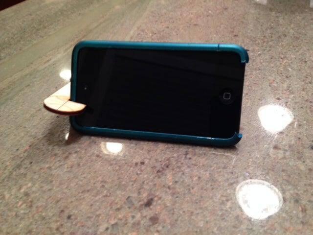 17. DIY Portable Phone Stand