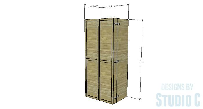 17. DIY Rustic Pantry Cabinet