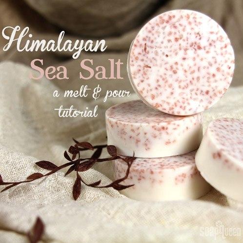 17. Homemade Salt Bar Soap