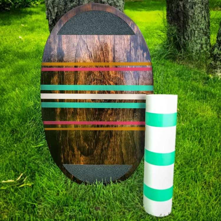 17. Plywood Surfer Balance Board