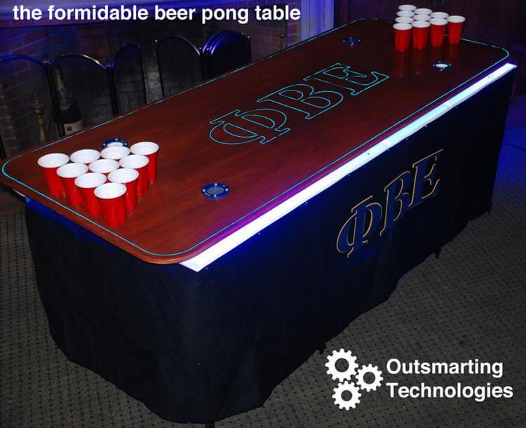 18. DIY Best Beer Pong Table