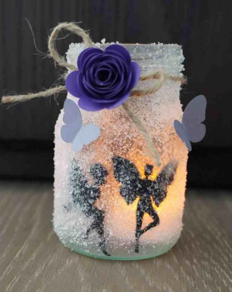 18. DIY Fairy Jar