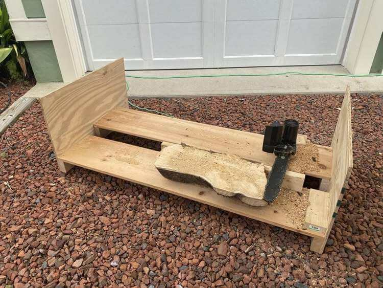 18. DIY Wooden Chainsaw Mill