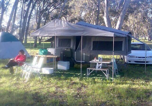 18. Homemade Micro Camper