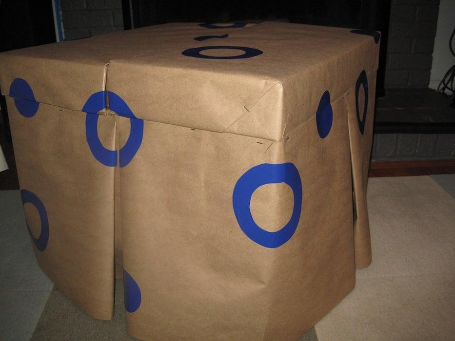 18. How To Build A Cardboard Ottoman With Storage