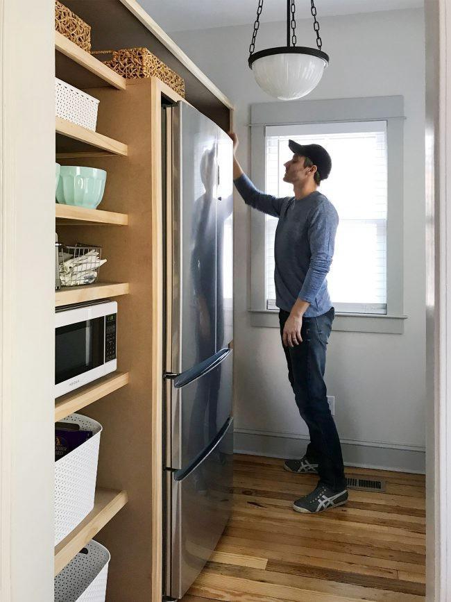 19. DIY Built-in Pantry Shelves