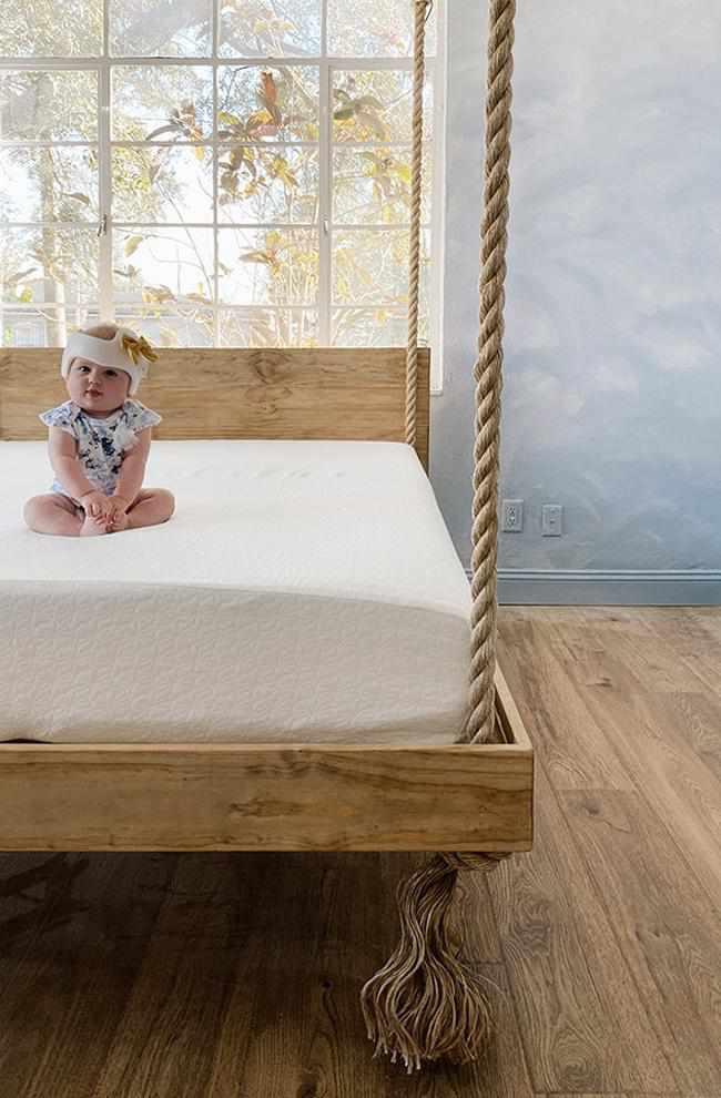 19. DIY Hanging Bed