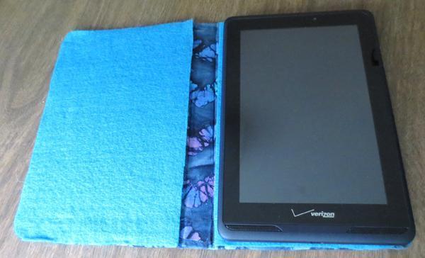 19. DIY Tablet Case