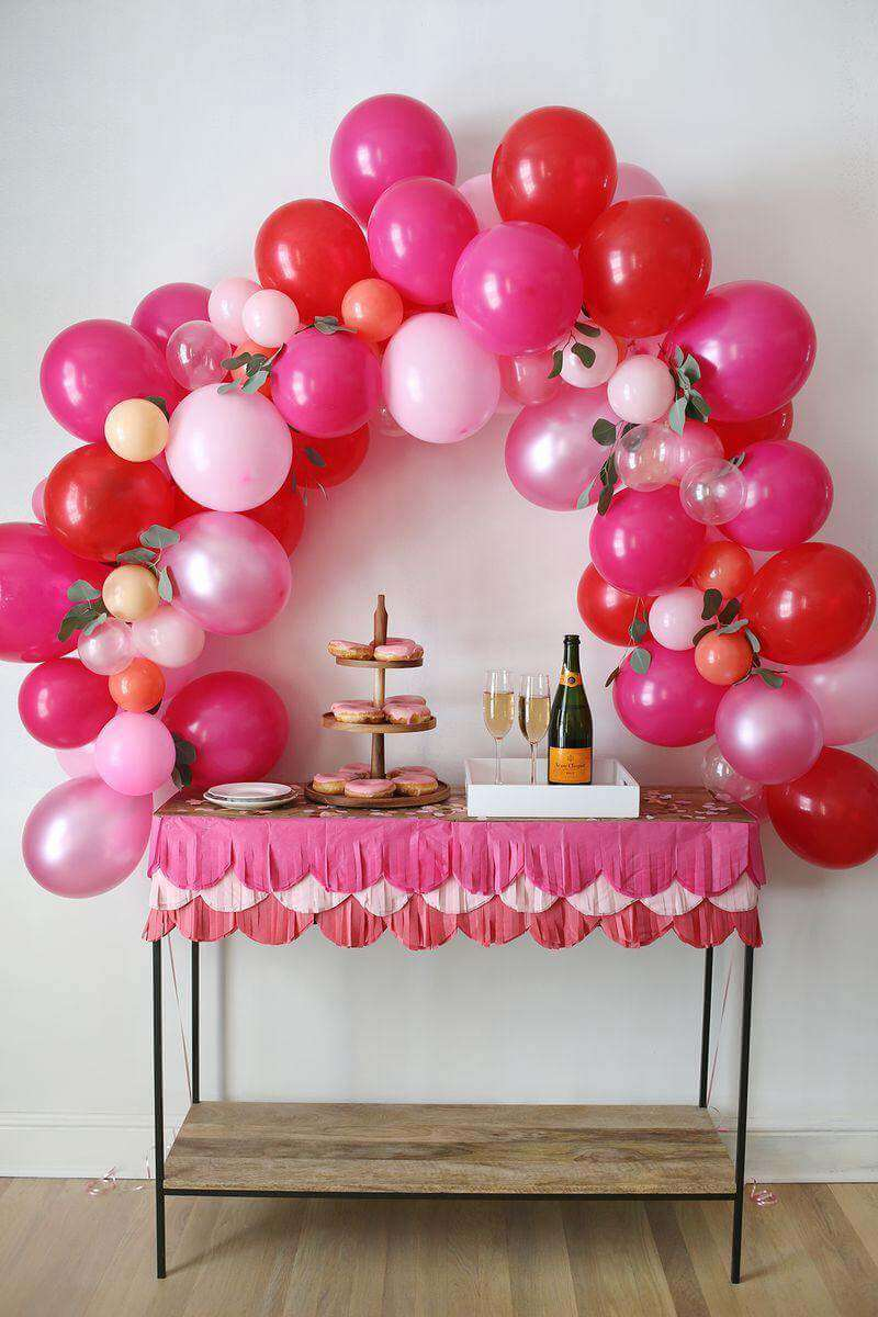 19. How To Make A Fancy Balloon Arch