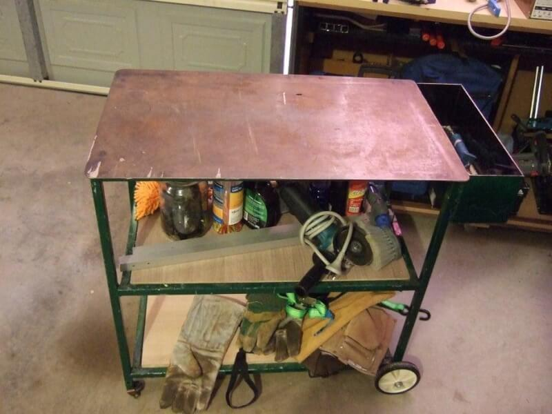 19. How To Make A Low-Cost Welding Table With BBQ