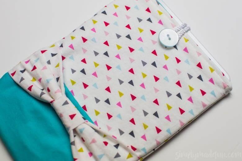 2. DIY Fabric Tablet Case
