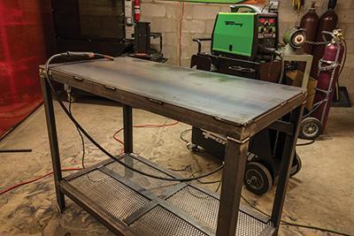 2. DIY Welding Table