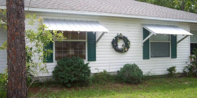 2. DIY awning on the cheap