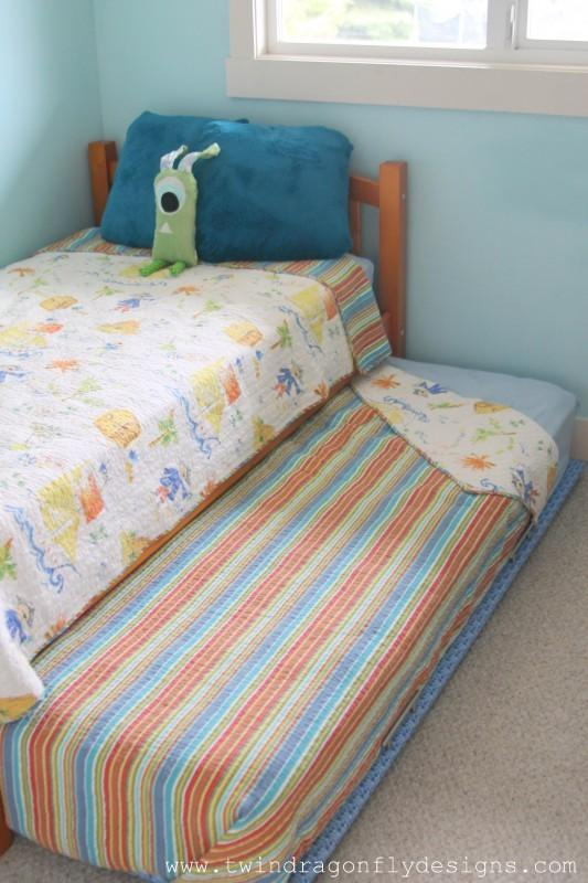 2. How To Build A DIY Trundle Bed