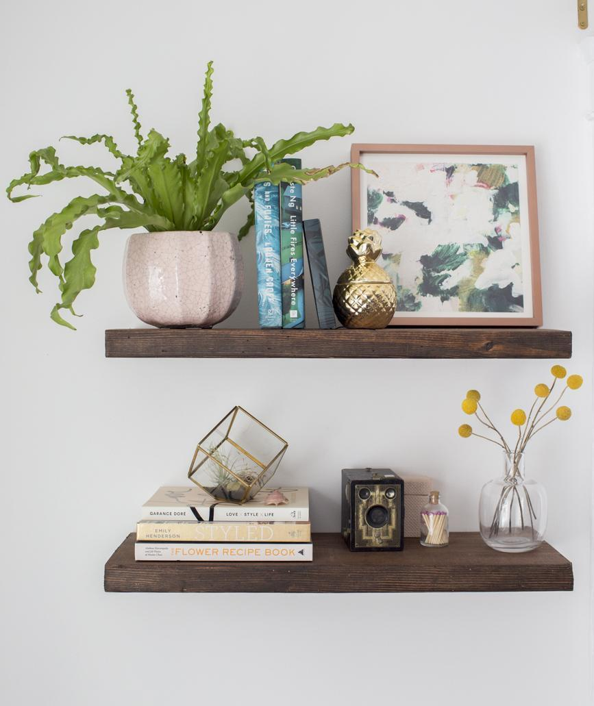 2. How To Build Floating Shelves