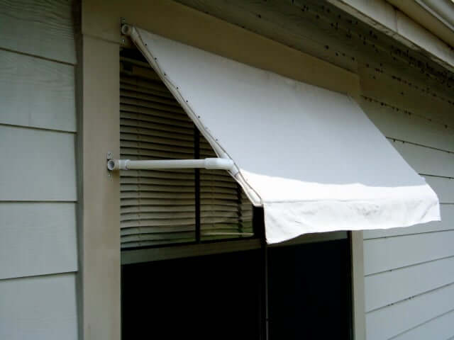 2. Instructables DIY awning