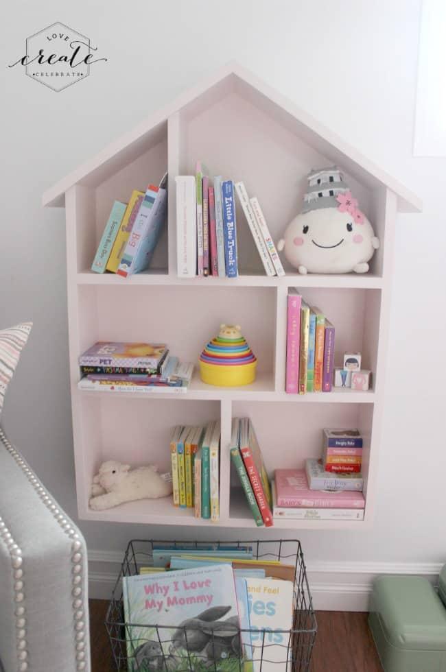 2. Open House Bookshelf