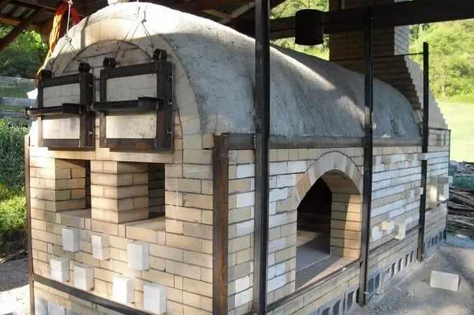2. Small Homemade Kiln