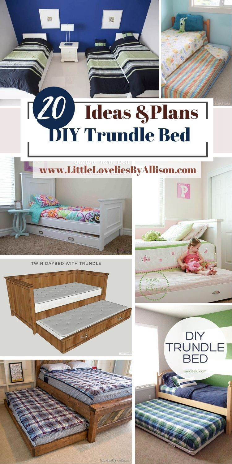 20 Ways To Build DIY Trundle Bed That Will Last Long
