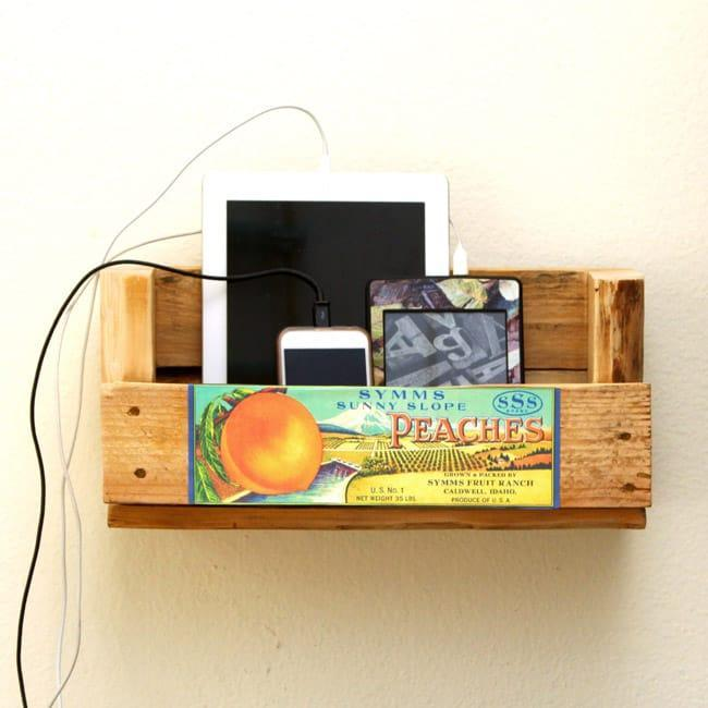 20. $20 Wood Floating Shelves