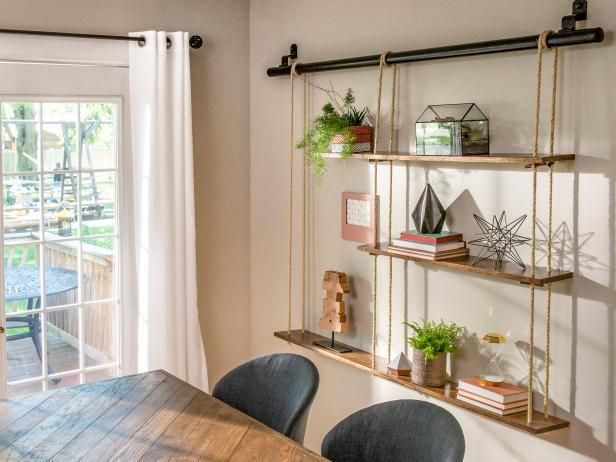 20. How To Make A Rope Shelving