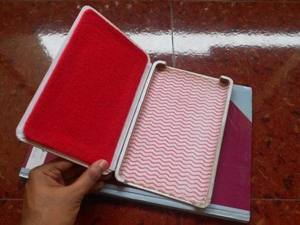 21. DIY Book Case For Tablet