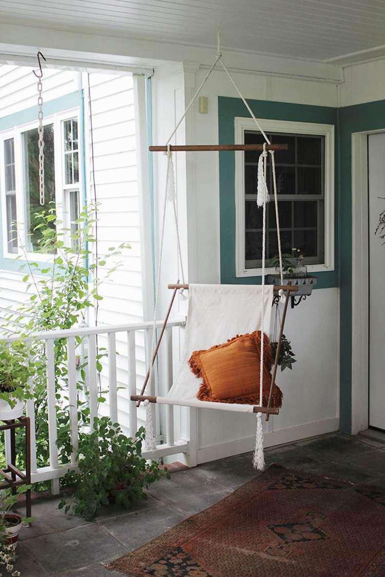 21. DIY Hanging Lounge Chair