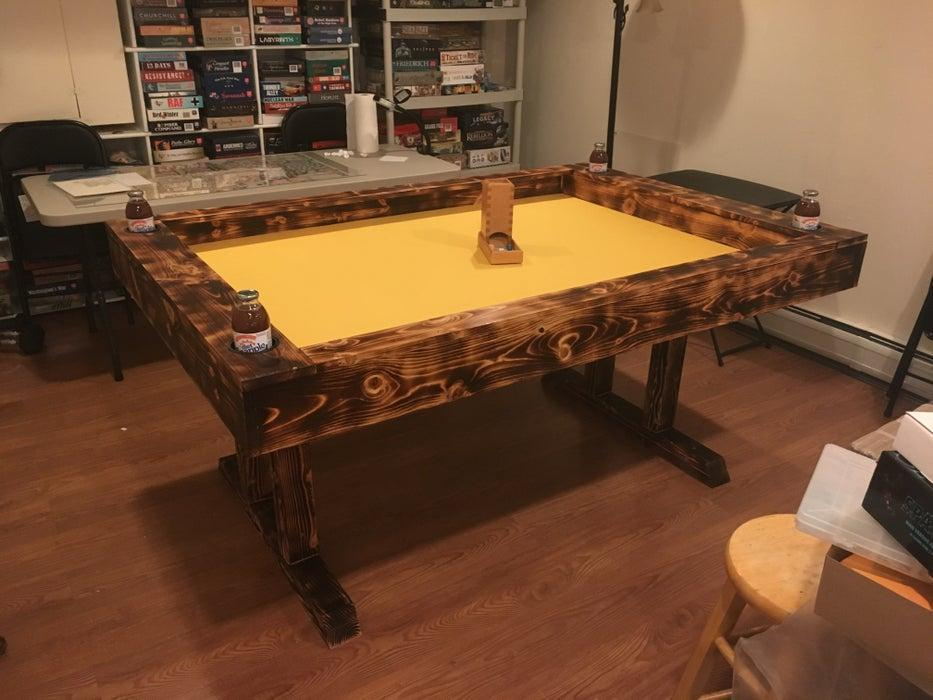 21. DIY High-contrast Gaming Table