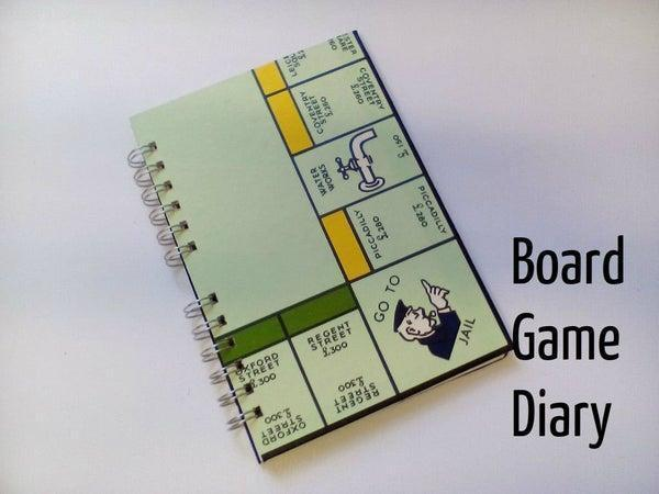 21. DIY Monopoly Board Game Diary