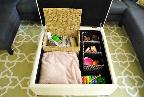 21. Kids Clutter Organizer
